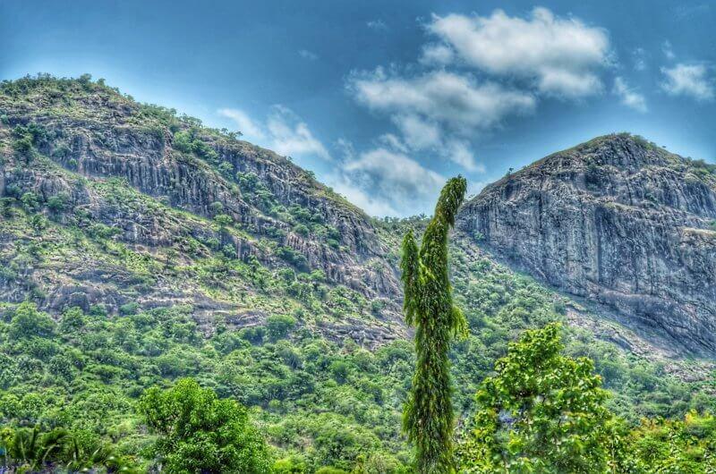 Collines paysage Bénin